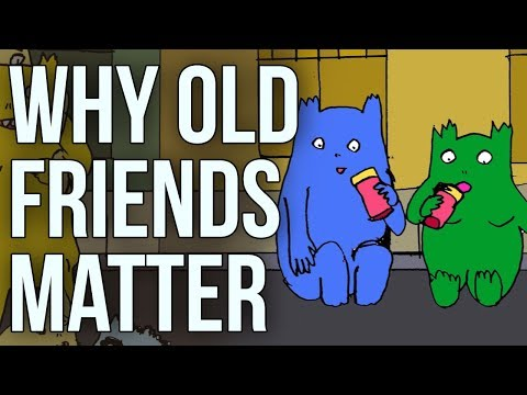 Here's Why Old Friends Truly Matter