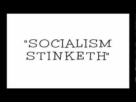"MICHIGAN SONGWRITER SAYS TO AMERICA, ""SOCIALISM STINKETH."""