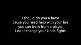 Kelly Rowland - I dont Wanna (lyrics)