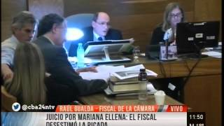 Fiscal Gualda por caso Mariana Ellena: rechaza el dolo eventual