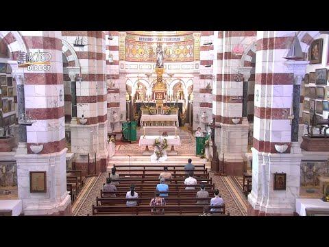 Messe du 14 juin 2021 à Notre-Dame de la Garde