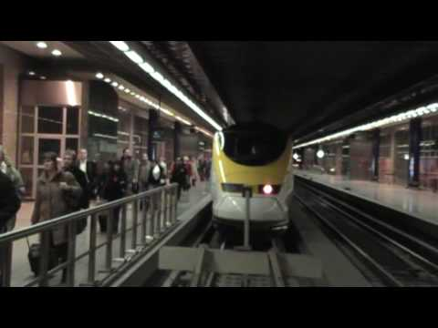 Goodbye Waterloo Hello St Pancras - The last Eurostar at Wat…