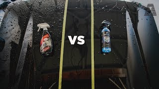 CHEAP VS EXPENSIVE: EXOFORMA VS TURTLE WAX SEAL N SHINE + FREE GIVEAWAY