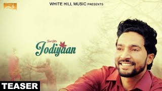 Jodiyaan ( Teaser) | Jeet Gill | White Hill Music | Releasing on 30th April
