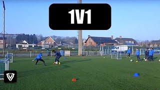 1V1 DRILLS | U9 – U10 – U11 – U12 – U13 – U14 | FOOTBALL – SOCCER | 1V1 EXERCISES