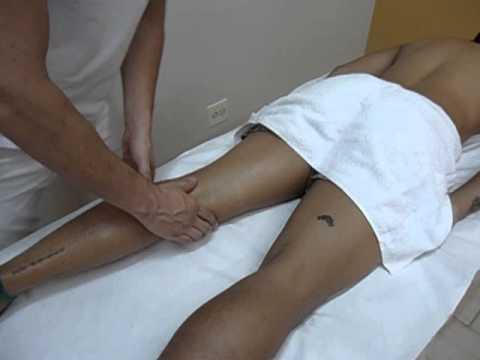 Esposa, marido, massagem de próstata