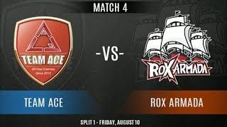 TEAM ACE Vs ROX ARMADA | Battle Of The Best | VPL EA Week 2