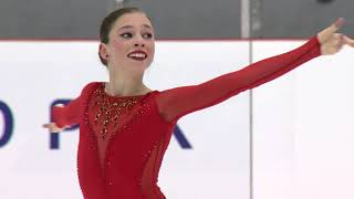 Anastasiia ARKHIPOVA UKR - Riga - Ladies Short Program- ISU JGP 2017
