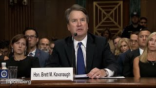 Kavanaugh Angrily Denies Ford's Allegations in Testimony