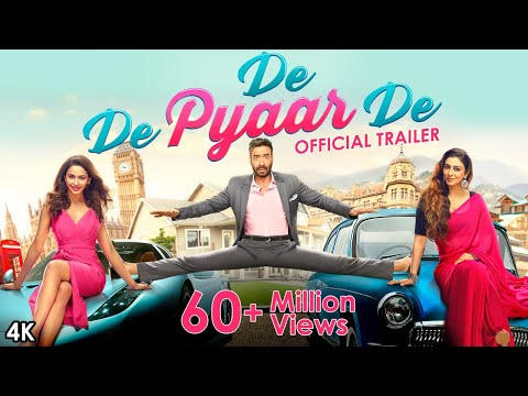 Download De De Pyaar De - Official Trailer | Ajay Devgn, Tabu, Rakul Preet Singh | Akiv Ali | 17 May HD Mp4 3GP Video and MP3