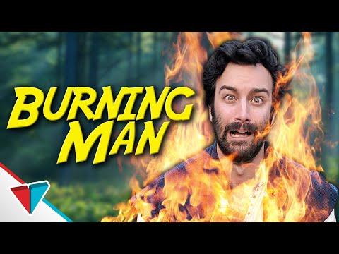 Hořící muž