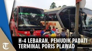 H-4 Lebaran, Penumpang Mulai Memadati Terminal Poris Plawad Tangerang