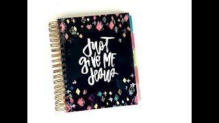 Using A Planner For Scripture Writing And Prayer Journal