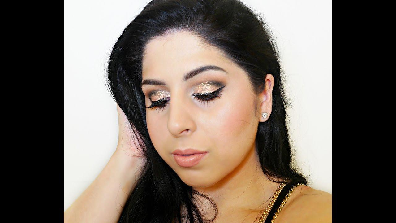 Soft Cut-Crease & Peach Shimmer – Full Face Tutorial