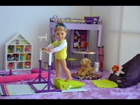 American Girl Doll McKenna's Bedroom!