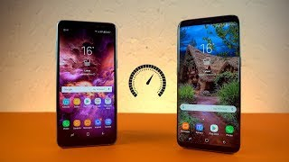 Samsung Galaxy A8 2018 vs Galaxy S8 - Speed Test!