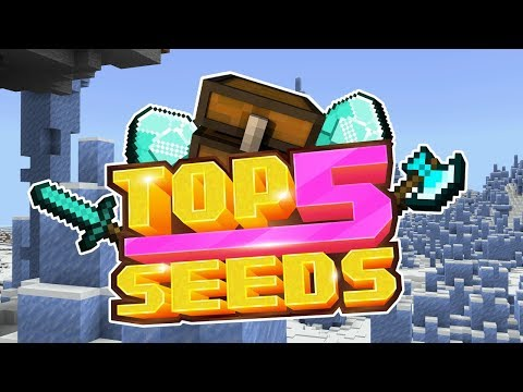 Minecraft 1 13 Seeds - INSANE AMPLIFIED ICE SPIKE MOUNTAINS