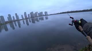 Рыбалка на охтинском разливе в спб