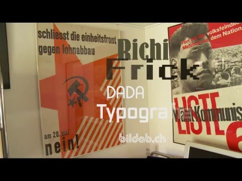 DADA Typografie Richi Frick