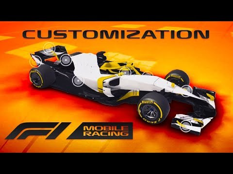 CUSTOMISING OUR OWN F1 CAR - F1 Mobile Racing