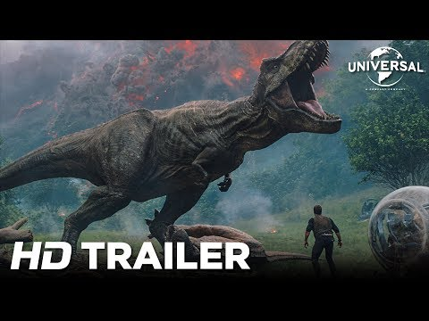 """Jurassic World: Το Βασίλειο Έπεσε"" - ""Jurassic World: Fallen Kingdom""// Trailer"