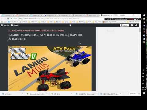 ATV Racing Pack | Raptor & Banshee V1 0 0 1 - Modhub us