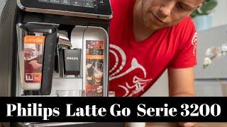 Philips Latte Go Serie 3200 Kaffeevollautomat Testbericht