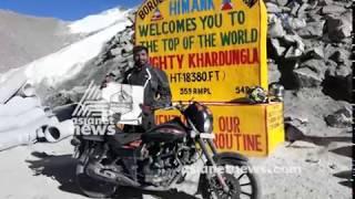 Malappuram guy who traveled across India on a 110 cc scooter | Malabar Manual  23 Oct 2017