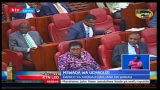 Mswada wa uchaguzi: Kamati ya sheria kujadiliana na wadau