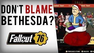 Bethesda Fans Blame  Fallout 76