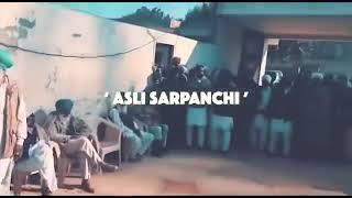 Ocihi Sarpanchi .sidhu Moose Wala. New Song 2019
