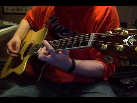 Working out a song on my acoustic guitar