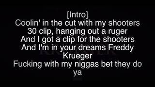 YNW Melly   Freddy Krueger Ft. Tee Grizzley (Official Lyrics)