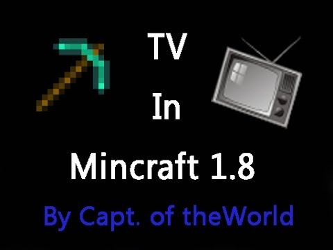 High Definition Tv 128x128 Pixels Per Block No Mods Minecraft Project