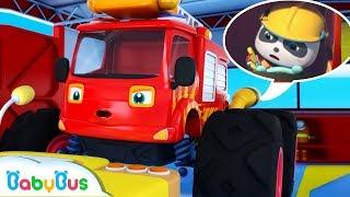 Action! Super Fire Truck | Super Panda Rescue Team | Monster Cars, Super Train | BabyBus