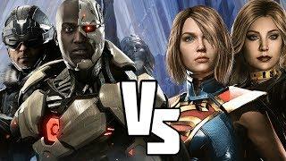 Injustice 2 Gadgets vs Girls  (INJUSTICE VERSUS)