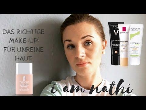 Das Richtige Make-up für Unreine Haut-Clinique- Vichy - I am Nathi