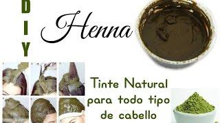 HENNA tinte natural para todo tipo de cabello DIY