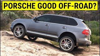 Is a Porsche Cayenne better Off Road than a Jeep Wrangler?