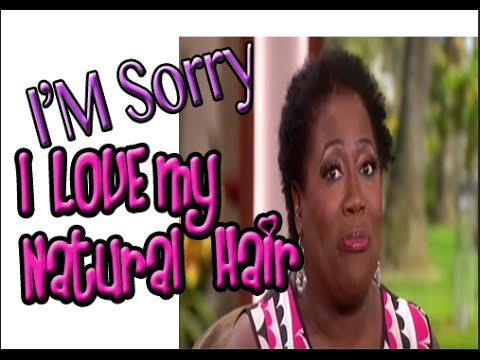Sheryl Underwood goes natural & Apologizes For Calling Natural Hair