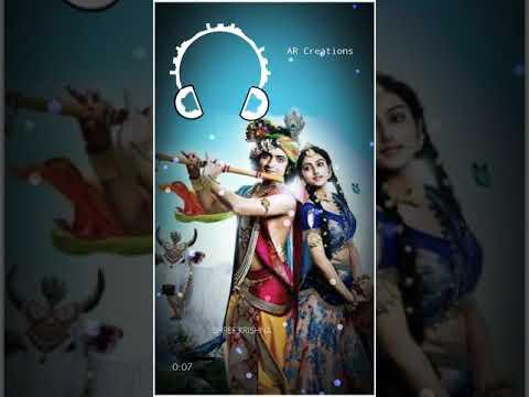 New whatsapp status radha Krishna 👑👑sona ni nagari no Raja kevae