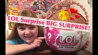 NEW L.O.L. Surprise Dolls LOL BIG SURPRISE - Unboxing Review & Giveaway Announcement!