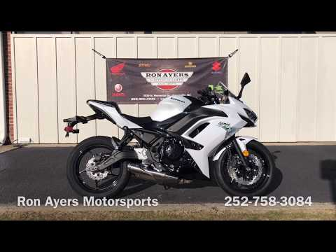 2020 Kawasaki Ninja 650 in Greenville, North Carolina - Video 1
