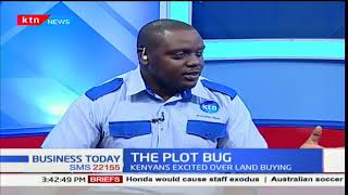 CEO of PRC, Brian Gachara on the plot bug