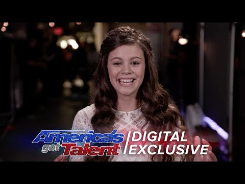 Elimination Interview: Angelina Green Recalls Her Experience On AGT - America's Got Talent 2017 (видео)