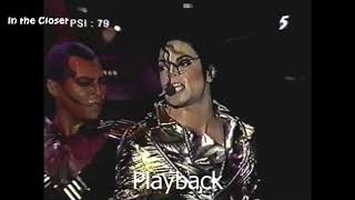 Michael Jackson - Playback vs Normal vocal