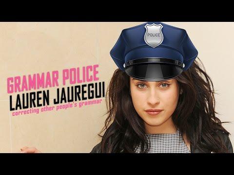 Lauren Jauregui Correcting Other People's Grammar