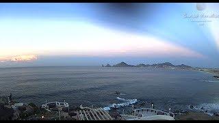 Spectacular Sunrise - Cabo San Lucas - Massive Beams Span Sky!