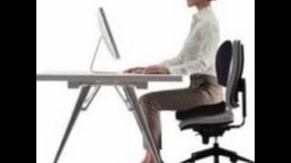 Descubre como trabajar Cómodamente en la Oficina - Cojín Silla Oficina, Asiento Casa, Coche
