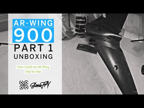 ar-wing-900--part-1-unboxing--fpv--wing--getting-started--deutsch